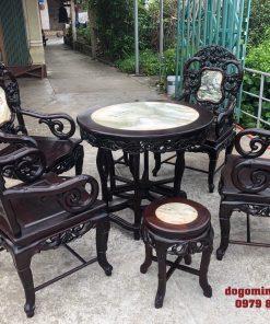 Bộ bàn ghế trúc nam