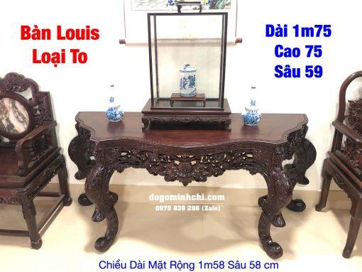 Bàn Bán Nguyệt Louis