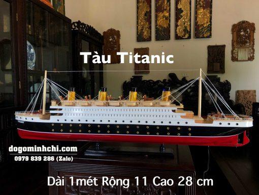 Tàu Titanic Mô Hình Gỗ
