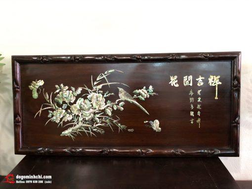 Tranh Khảm Phù Dung
